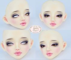 ::. 𝐂𝐮𝐬𝐭𝗼𝗺 𝐟𝐚𝐜𝐞-𝐮𝐩 .:: Unoa Lusis H/E NS. www.nomyens.com #bjd #abjd #balljointdoll #dollofstargram #instadoll #dollstargram #toy #paint #painting #painted #repaint #handmade #nomyens #nomyensfaceup #unoa #unoalusis #msddoll #japandoll #japandolls Star G, Ball Jointed Dolls, Bjd, Lipstick, Cosmetics, Face, Handmade, Painting, Beauty