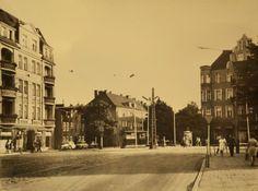 Wrzesień 1968. Ul. Górna Wilda w pobliżu Rynku Wildeckiego. Fot. Z archiwum Miejskiego Konserwatora Zabytków #wilda #poznan