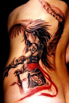 tatuaże anioły 38949