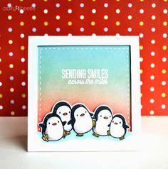 Mama Elephant Arctic Penguins craftybeetle