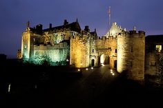 Stirling Castle, Stirling Scotland...from the castle you can see the wallace monument...robert the bruce wanted to look at it to remember william wallace's courage in uniting the clans of scotland