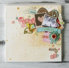 HOW TO: Us - by Leah Farquharson using Dear Lizzy Neapolitan from American Crafts.