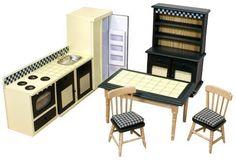 Melissa & Doug - Juego de cocina para casa de muñecas (12582): Amazon.es: Juguetes y juegos