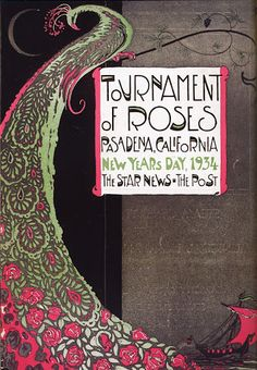 1934 Tournament of Roses Ad