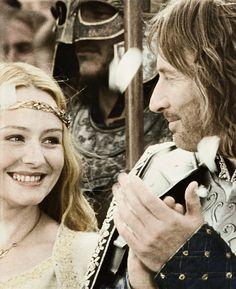 Eowyn and Faramir. <3 <3 <3