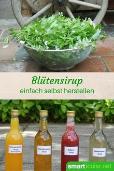 A syrup made from local berries or flowers will keep your natural aroma all year round! This will make your dishes even tastier! Informations About Blüten- und Beerensirups – Genuss … Diet Drinks, Smoothie Drinks, Yummy Drinks, Healthy Drinks, Healthy Recipes, Superfood Smoothies, Pesto, Food Club, Liqueur