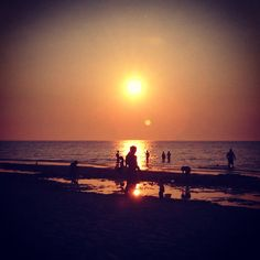 One of the most amazing sunsets i have ever watched! Mayflower beach, Dennis, Massachusetts, USA August 2014