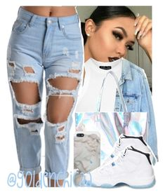 """90's baby "" by g0ldenchicaa ❤ liked on Polyvore featuring Topshop, Levi's and Retrò"