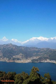 The Himalayas and Phewa Lake, Pokhara Nepal Cool Places To Visit, Places To Travel, Amazing Destinations, Travel Destinations, Nature Photography, Travel Photography, Nepal Trekking, Asia Travel, Travel Nepal