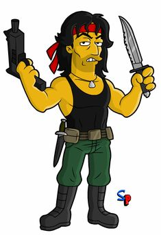 Springfield Punx: Rambo
