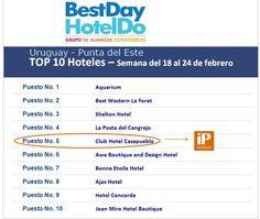 iP Hoteles -BestDay Uruguay - Top 10