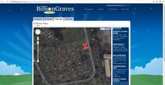 Billion Graves screenshot, 2011 #kasaysayan