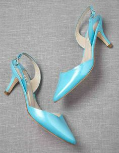 Sixties Slingbacks