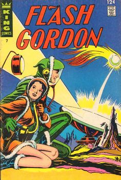 Flash Gordon Comic Book #7  Publisher: King Comics  Date: August 1967
