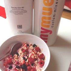 Custom mixed cereals: mymuesli
