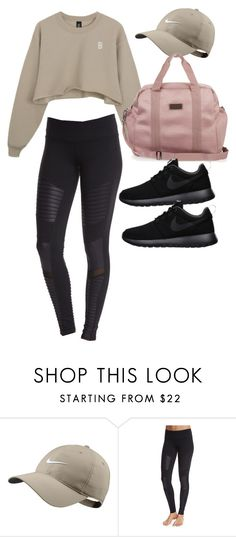 """""""Untitled #4209"""" by lilaclynn ❤ liked on Polyvore featuring NIKE, Alo Yoga, adidas, StellaMcCartney and nike"""