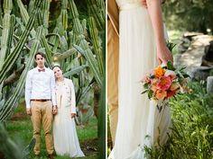Modern Outdoor Wedding: Alex + John