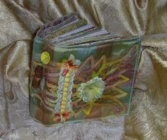 SEW IN ART: Fabric journal