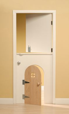 This door would have been a dream come true when I was little!