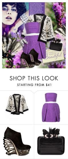 """""""Untitled #697"""" by katerina8606 ❤ liked on Polyvore featuring Mary Katrantzou, Le Silla and Nancy Gonzalez"""