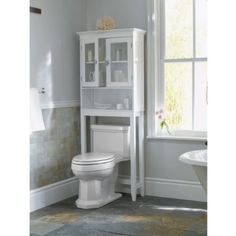 Over Toilet Storage Idea For Isaiah S Bathroom