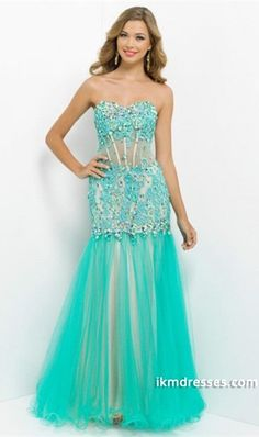 http://www.ikmdresses.com/2014-Shiny-Embellished-Bodice-With-Rhinestone-And-Applique-Floor-Length-With-Tulle-Skirt-Prom-Dress-p85117