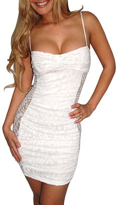 Arouse (White)-Great Glam is the web's top online shop for trendy clubbin styles, fashionable party dress and bar wear, super hot clubbing clothing, stylish going out shirt, partying clothes, super cute and sexy club fashions, halter and tube tops, belly