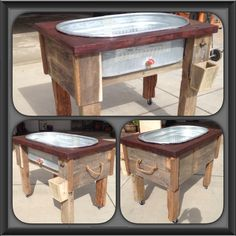 Trough bar! Mike Morris woodworking & design on Facebook
