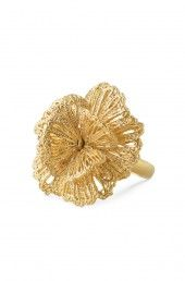 Geneve Lace Ring - Gold - $29.50; Reg $59