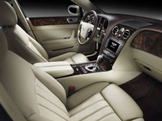 Bentley Continental Flying Spur Speed Interior