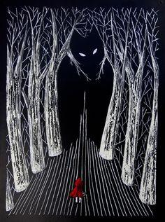 Little red riding hood by Klervie on DeviantArt