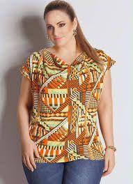 Risultati immagini per blusas plus size
