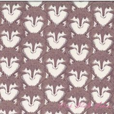 Sarah Watts Timber & Leaf Fox Portrait Brown