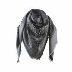 Balmuir Lombardia scarf - dark grey