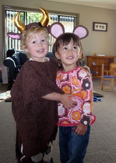 THE GRUFFALO | costume set based on the children's book—both monster and mouse!