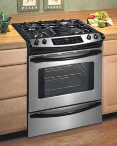 Flat Top Stainless Steel Stove | Shane & I's Future House Ideas ...