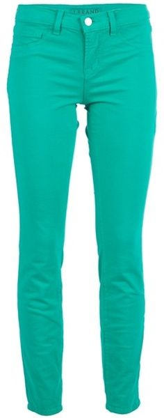 I'm gonna get me a pair of colored skinny jeans in every color! I already have black