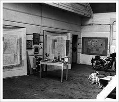 "Ben Nicholson""s  studio"