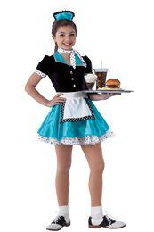 Novelty Dance Costumes | Dansco | Dance Fashion 2014 2015 | Pinterest Keywords: Diner Waitress | Costume Name: Order's Up 15579