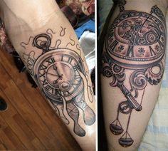 Cogs and Ink: 28 Cool Steampunk Tattoo Designs that Wow