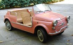 Fiat 'Jolly' - oh god please let me have one of these:)