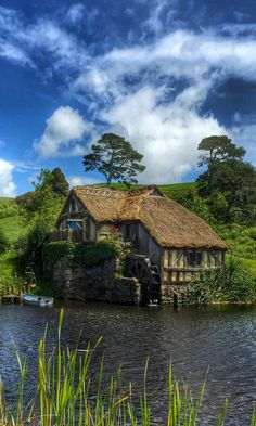 Is it time to explore our own backyard? Top spots to see in New Zealand - Pic is of Hobbiton, so cute!