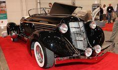 2011 California Custom Coach Model 876 modeled after Auburn original 1935/1936
