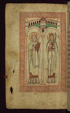 Ulrich and Afra - Claricia Roman Empire, Medieval Art, Art Museum, Century, 12th Century, Art History, Early Christian, Illuminated Manuscript, Art