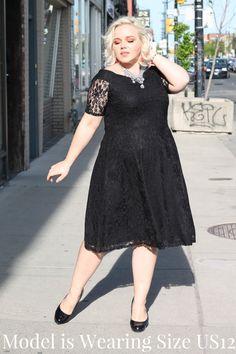 8f3614880bf Black Lace Off the Shoulder Midi Dress. Black Lace Off the Shoulder Midi  Dress — Your Big Sister s Closet Plus Size