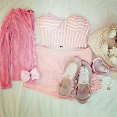 Fashionable Outfits for Teen Girls in Summer