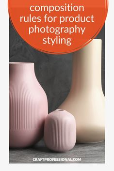 Composition rules for product photography styling. 2 simple rules you can use to create effective arrangements of your props when styling craft photography. Plus 6 design elements to keep in mind when you choose your styling props. #productphotography #craftbusiness #craftprofessional Rule Of Thirds Photography, Light Photography, Fashion Photography, Selling Crafts Online, Craft Online, Golden Triangle, Photography Tips For Beginners, Simple Rules, Light Texture