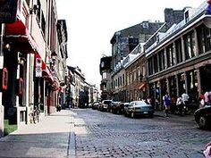 """Of Montreal the """"Paris of the North."""" The narrow cobblestone streets. Old Montreal, Montreal Ville, Montreal Quebec, Oh The Places You'll Go, Great Places, Places Ive Been, Beautiful Places, Vacation Places, Places To Travel"""