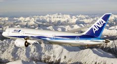 Boeing 787-8 Dreamliner demonstrator in All Nippon Airways (ANA) livery