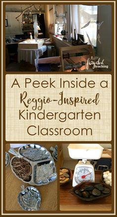 A Peek Inside a Reggio-Inspired Kindergarten Classroom l Fairy Dust Teaching